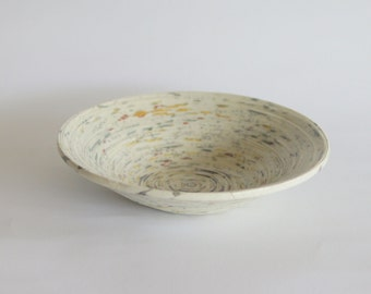 Rolled Paper Bowl
