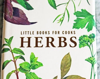 Recipe Book Little Books For Cooks Herbs Mini Cookbook 80 Pages Hardcover Excellent Like New Condition