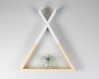 Triangle Tepee Shelf, Nursery Decor