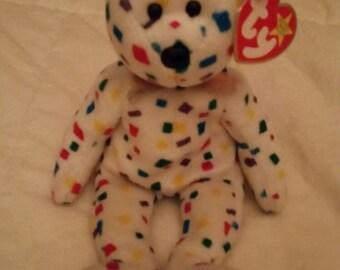 Ty beanie baby bear named Y2K