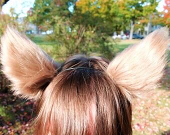 Any Color Fluffy Furry Fox Ears Wolf Dog Ears Cosplay Costume Headband