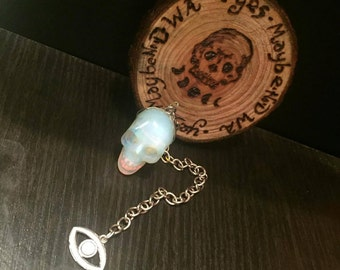 Opalite Skull Pendulum and Board