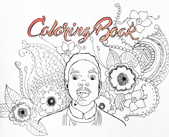 Coloring book chance the rapper poster Coloring book chance the rapper vinyl