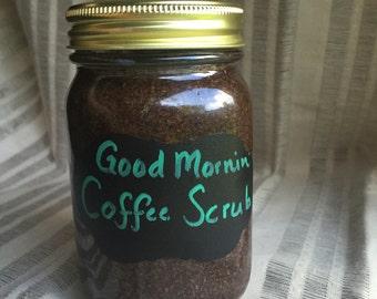Good Mornin' Coffee Scrub