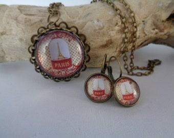 "Jewelry set ""City of love"""