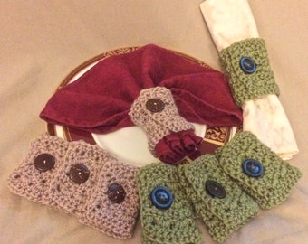 Napkin Ring, Crochet Napkin Ring, Napkin Holder, Napkin Ring Ideas