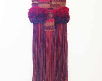 Contemporary Piece of Tapestry by  Catalan Artist M. Teresa Simó Ferrer