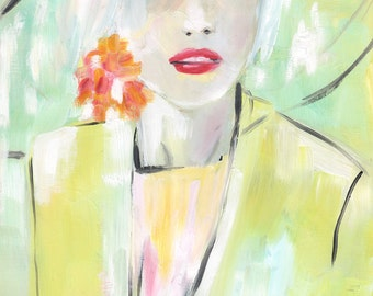 Fashion illustration, print, Giclée or canvas