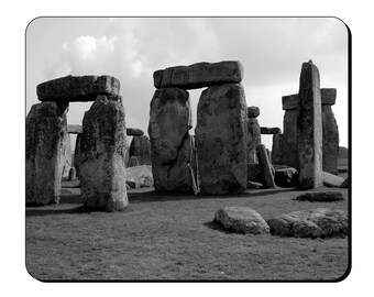 Mouse Mat - Stonehenge - Ancient Megalithic UK Site Stone Circle Mouse Pad AS118