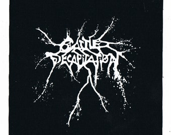 Cattle Decapitation Band Patch