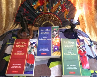 Stichomancy (book) Divination - Bibliomancy reading - Romance of the Three Kingdoms. Psychic intuitive reading with written passages.