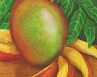 Mango card/print