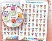 49 Cute MINI Headache/Pill/Medicine Planner Stickers, Filofax, Erin Condren, Happy Planner,  Kawaii, Cute Sticker, UK