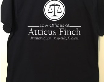 Atticus Finch - Lawyer Shirt