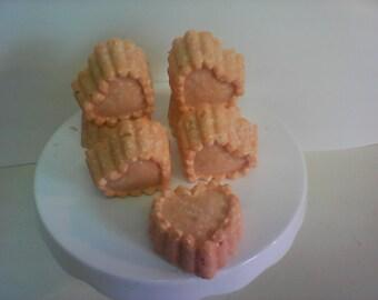 Orange patchouli salt bars