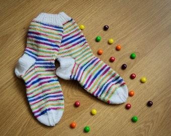 Rainbow Socks for Real Optimists