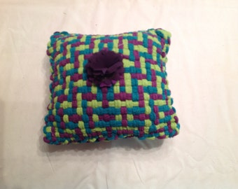 Small Cotton Loop Pillow