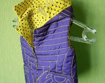 SALE,one size 3T. Reversible vest for girl.