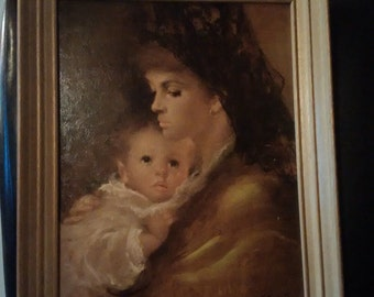 Mother Love litho by A. Gentilini