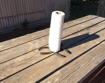Horseshoe Paper Towel Holder
