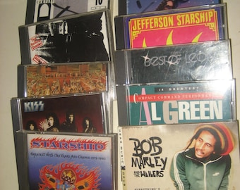 TWENTY Music CDs /used