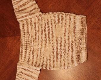 Crocheted Baby Sweater