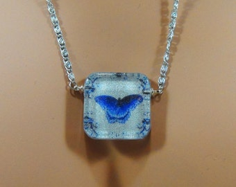 Butterfly Design Artisan Created Necklace