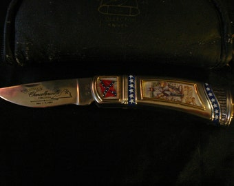 Franklin Mint Colt Stonewall Jackson Collector's Knife