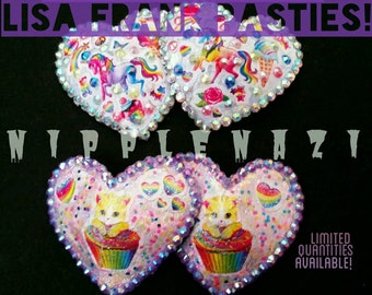 Lisa Frank Pasties! -Ready to ship!- Limited Edition -