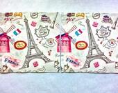 2 pcs. Decoupage CAFE DE PARIS vintage napkins,napkins for decoupage,lunch napkin, scrap booking & paper craft projects,mixed media