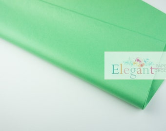 Tissue paper, Apple Green, Gift wrapping