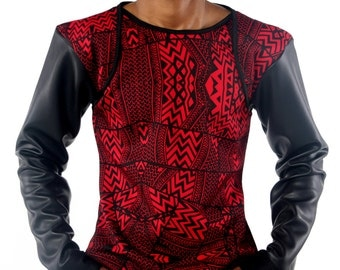 HBTM Tribal Long Sleeve Shirt