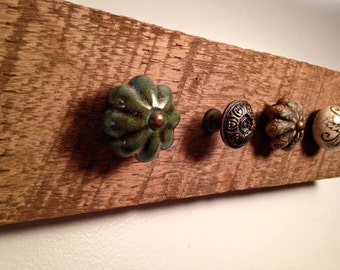Reclaimed Wood Jewelry Display