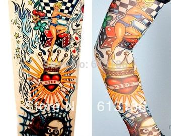Nylon Realistic Tattoo Sleeves
