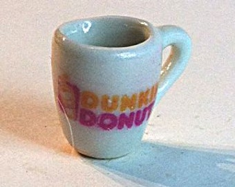 Miniature Dunkin' Donuts Coffee Cup (CER003)