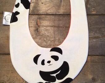 CLEARANCE SALE! bandana bib waterproof baby giant panda