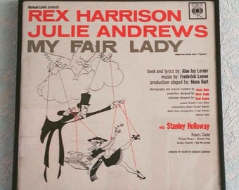Vintage Framed LP - My Fair Lady