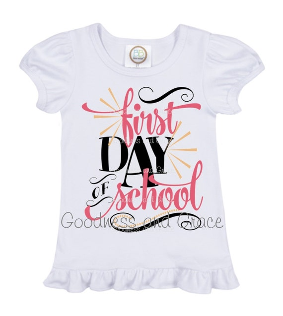 First Day Of School Sweet Back To School Shirt Available