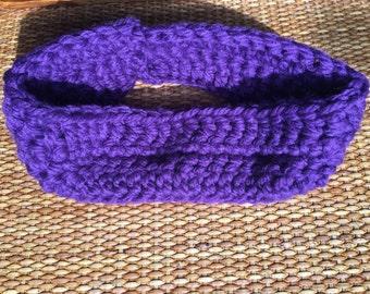 Purple Headbad/ earwarmer