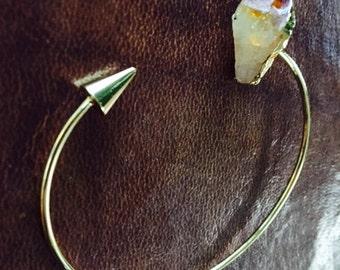 Citrine, Amethyst bracelet