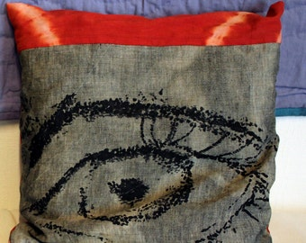 "Decorative cushion ""Eye - 4"""