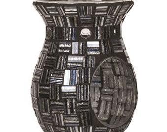 Liquorice Squares Mosaic Wax Melt Tart Burner