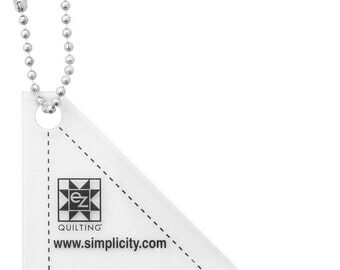 Mini Easy Angle Triangle with Key Chain Acrylic Template