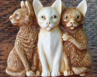 Harmony Kingdom Kitten Collection Brooch