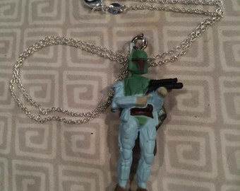 Boba Fett necklace