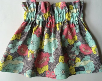 Girl's Floral/Butterfly Skirt