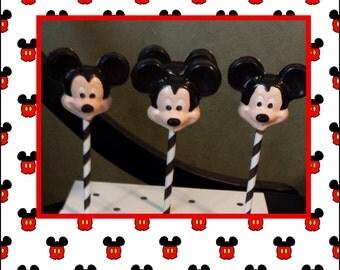 Mickey Mouse Lollipops