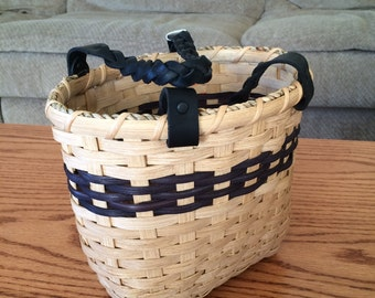 Handwoven Polly's Small Tote Basket #78
