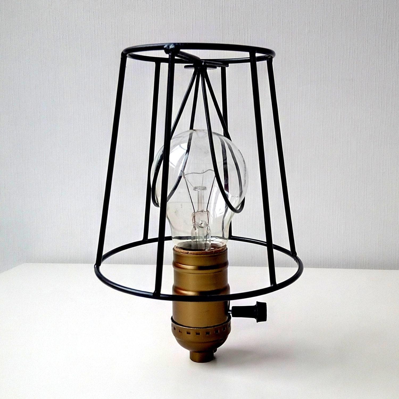 how to make a metal lamp shade