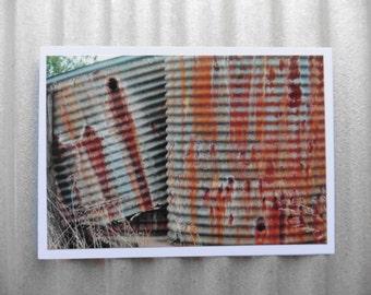 Rusty Tanks.  (card)